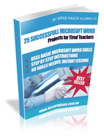Order 25 Successful Word Projects now!